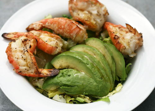 Grilled-Shrimp-and-Avocado-Salad